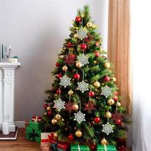 Christmas Pendant Christmas Snowflake Pendant Christmas Tree Decoration ... - $2.79