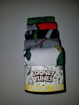 Looney tunes alien  mens casual crew socks fits shoe size 8 to 12 - $18.95