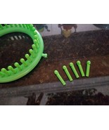 "Lot 5 x Boye Knitting Loom Replacement Peg for Green 5.5"" light weight y... - $2.99"
