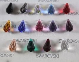 4 pieces Genuine Swarovski Elements 6000 15mm TEARDROP PENDANT - Select ... - $3.30+