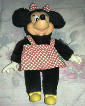 1981 Applause Disney Minnie Mouse With Tags - $0.98