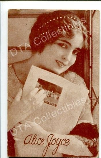 Primary image for ALICE JOYCE-PORTRAIT-1920-ARCADE CARD G
