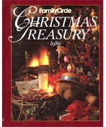 Family Circle Christmas Treasury 1989 Hardcover Book Seasonal Crafts Foo... - $4.99