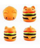 Sanqi Elan Squishys Cat Burger Slow Rising Soft Animal Collection Gift 1... - $9.85
