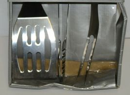 BBQer Choice 14501 3 Piece Stainless Steel Grilling Tool Set image 3