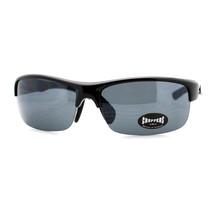 Choppers Mens Sunglasses Half Rim Rectangular Sports Fashion Shades - $9.95