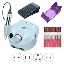 Nail File Drill - Electric Manicure Pedicure Acrylic Portable Salon Mach... - $45.53