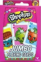 Shopkins Jumbo Playing Cards - $3.00