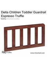 DELTA Children Toddler Guard Rail Guardrail Espresso Truffle 0080-208 - $68.31