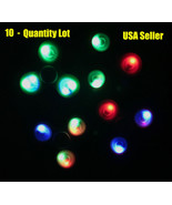10-Qty Light Up ON / OFF Tri-Spinner Fidget Toy Hand Finger Spinners-USA... - $45.98