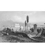 ITALY Arezzo - 1864 Fine Quality Print Engraving - $39.60