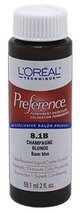 L'Oreal 8.1B Champagne Blonde Permanent Hair Color 8.1B Champagne Blonde - $7.91