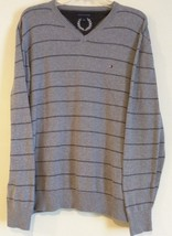 Tommy Hilfiger - Gray Knit V-Neck Pullover Sweater - Men'S Size: Large - $24.77