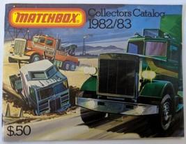 Vintage 1982/83 MATCHBOX LESNEY Diecast 63-Page Collectors Catalog Booklet - $5.00