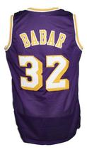 Fletch Movie Chevy Chase Basketball Jersey New Sewn Purple Any Size image 2