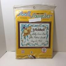 "Wedding Bells Embroidery Kit Soo-Z 11"" x 14""  - $9.74"