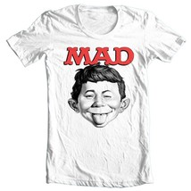 MAD Magazine Alfred E Newman T-shirt  retro 1970's funny graphic tee WBT349 image 2