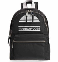 Marc Jacobs Backpack Trek Pack Large Logo Black NEW - $148.50