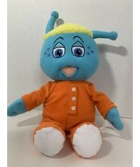 My Bedbugs plush doll Toofy blue yellow hair orange outfit 2006 Greenestuff - $4.94