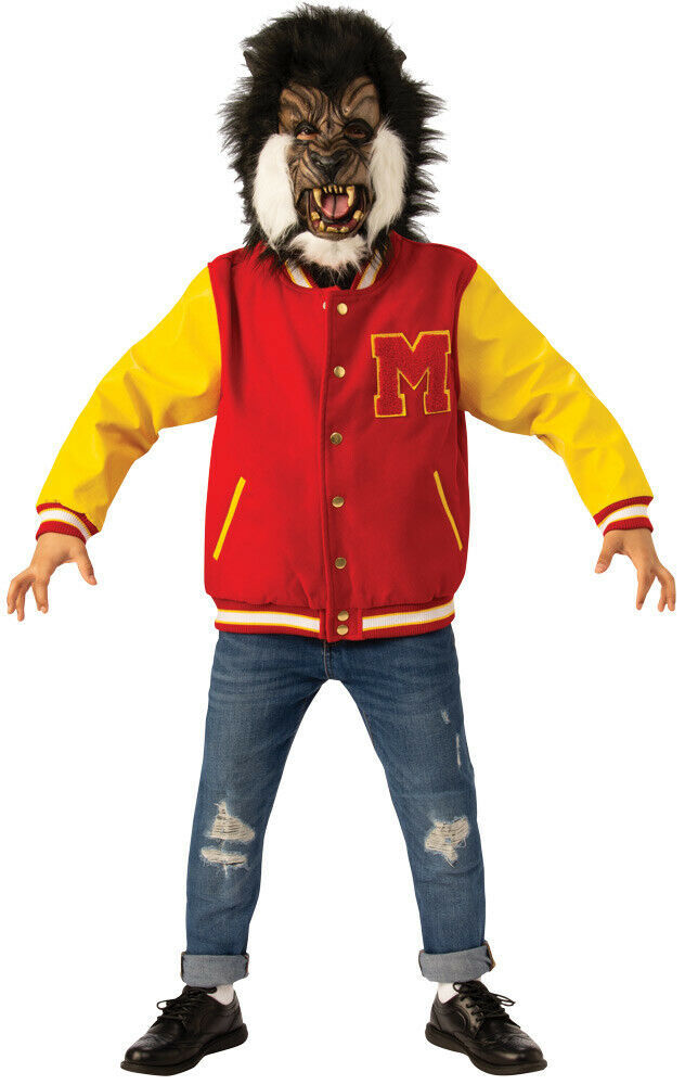 The Michael Jackson Thriller Werewolf Deluxe Kids Halloween Play Costume MD LG