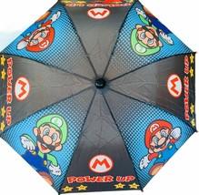 Super Mario Bros Umbrella Luigi vtg video game memorabilia Nintendo DS N... - $38.65