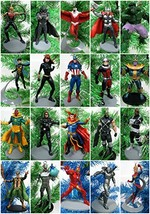 AVENGERS Complete Team 22 Piece Christmas Ornament Set Featuring Captain... - $159.60