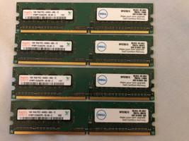 Hynix 4GB Kit ( 4X 1GB Dimm 800 M Hz PC2-6400 DDR2 Memory (HYMP112U64CP8S6)) - $7.91