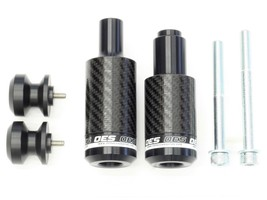 OES Carbon Frame Sliders and Swingarm Spools 2004 2005 2006 Yamaha YZF R... - $89.99
