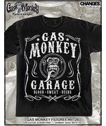 Gas Monkey Garage Filigrana Blood Sweat Beers Fast Loud Dallas Texas Mag... - $18.62+