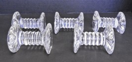 Five Waterford Crystal Knife Rests With Paper Labels - $94.99