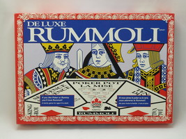 Rummoli Deluxe 1995 Plastic Mat & Chips Canada Games Excellent Plus Bili... - $38.56