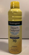 Neutrogena Beach Defense Sunscreen Water + Sun Protection SPF 70, 6.5 oz - $12.98