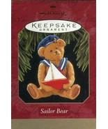 1997 New in Box - Hallmark Keepsake Christmas Ornament - Sailor Bear - $4.00