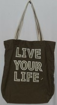 American Eagle Outfitters 7466 AE Everyday Tote Magnetic Closure Color Gray image 1