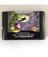 Castle Of Illusion starring Mickey Mouse 16-Bit Sega Genesis Mega Drive Game  - $8.99