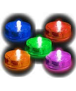 PARTY DOTS - Assorted Peel N Stick LED Light - 5 Pack - $15.09