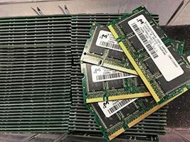 20 x MT4VDDT3264HG-335F2 256MB DDR PC2700 DDR-333 200P SODIMM RAM Memory Tested