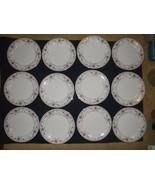 Set of  12 Noritake ADAGIO Dinner Plates 7237 Ivory China - $93.49