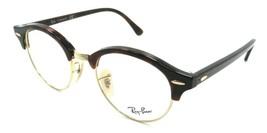 Ray-Ban Rx Eyeglasses Frames RB 4246V 2372 47-19-140 Clubround Red Havan... - $137.20