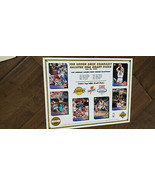 1993 UPPER DECK COMMEMORATIVE SHEET LAKERS DRAFT SHAQUILLE SHAQ O'NEAL M... - $7.99