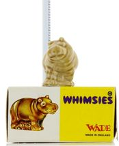 No.20 Hippo LRG Miniature Animal Porcelain Figurine Picture Box Whimsies by Wade image 3