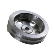 Saginaw Power Steering Pump Double-Groove Aluminum Pulley For GM (Chrome) image 7