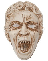 Doctor Who Weeping Angel Face Vacuform Plastic Mask Costume Licensed NEW... - £9.70 GBP
