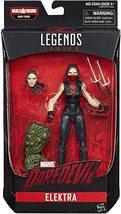 Marvel Knights Legends Elektra Netflix BAF Man-Thing Series action figure - $24.95