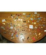 Huge Lot Vintage To Modern Clip On & Screw Back Earrings-130 Pairs-From Estate - $74.95