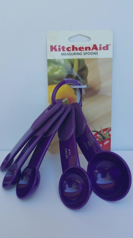Kitchenaid PURPLE AMETHYST Measuring Spoons set