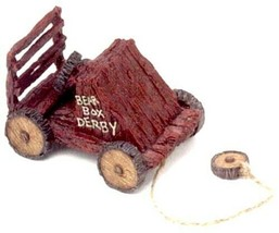 """Boyds Pull Toy """"Bearbox Derby"""" - #654250 -2003 - Retired - $16.99"""