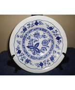 Blue Onion Cereal Bowls Small Serving Ironstone Staffordshire - $11.00