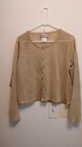 April Cornell Women's Top Cardigan Blouse Size S - $19.79