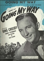 1944 Going My Way from Movie Bing Crosby Antique & Vintage Sheet Music - $7.95